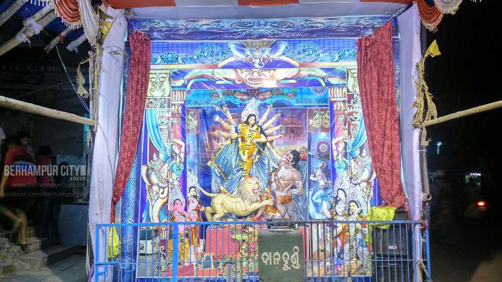 Durga-Idol-Hunman Junction Road Berhampur