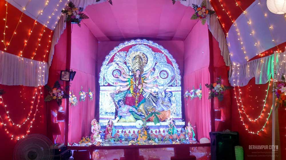 Durga Puja at Subbarao Junction Brahmapur