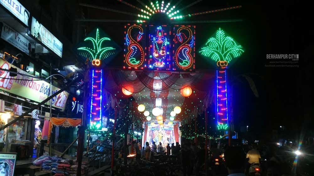 Durga Idols in Berhampur City