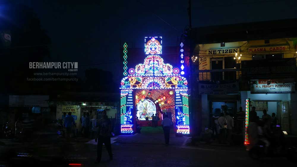 Durga Puja in Berhampur City